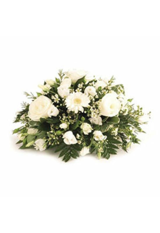 Temetői tál vegyes virágból_XS